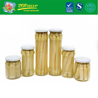 Salty Flavor Canned White Asparagus