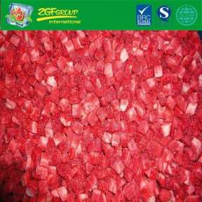 New Season Frozen Fruits IQF Diced Strawberry