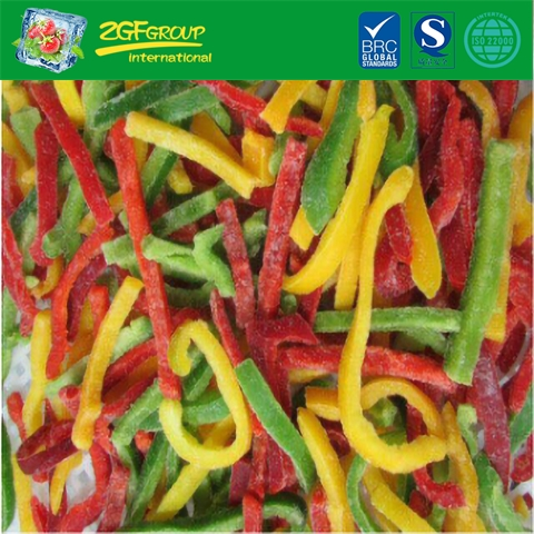Frozen Mixed Pepper Diced/Strips (green & red&yellow)