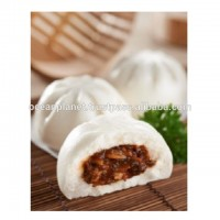 Malaysia Halal Frozen Food Wholesale Traditional Chinese Breakfast Dim Sum Pau BBQ Chicken (L)