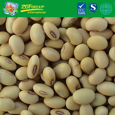 Dry yellow soybeans